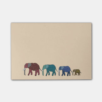 African Elephants Post-it® Notes