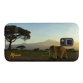 African Elephants & Savannah Phone Device Case Case For Galaxy S5