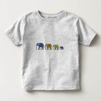African Elephants Toddler Shirt
