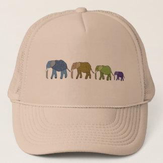 African Elephants Trucker Hat