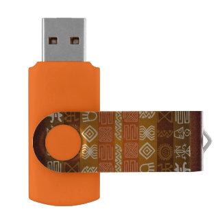African Ethnic Boho Design USB Flash Drive