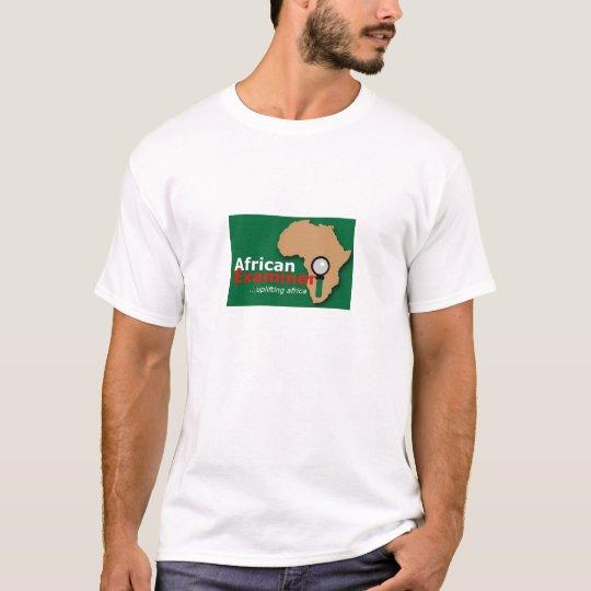 African examiner tee. T-Shirt