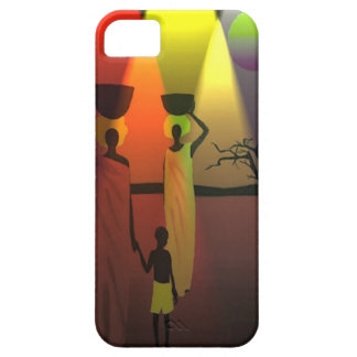 African family at sunset iPhone SE/5/5s case