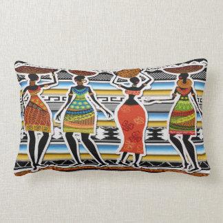 African Feast Lumbar Pillow
