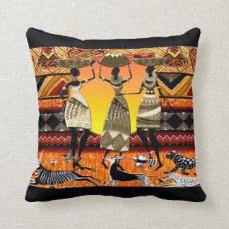 African Feast Pillow