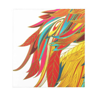 African Feathers Note Pad