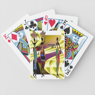 African Festival Bicycle Playing Cards