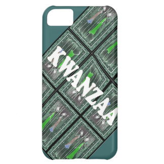 African figure figures ready for Kwanzaa iPhone 5C Covers