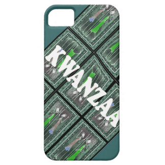 African figure figures ready for Kwanzaa iPhone SE/5/5s Case