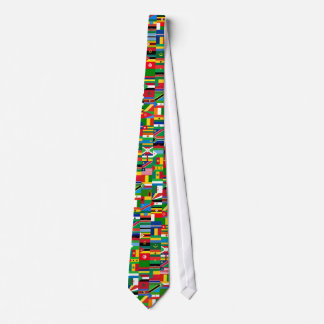 African Flags Necktie