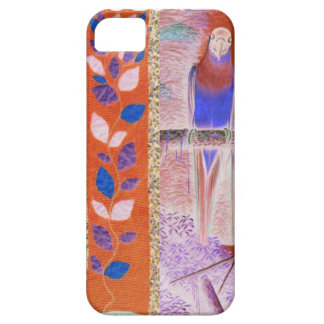 African flowers and a parrot iPhone SE/5/5s case