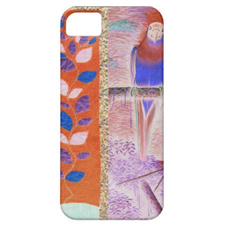 African flowers and parrot iPhone SE/5/5s case