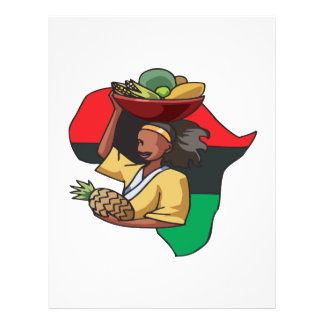 African Food Flyer