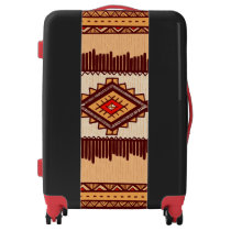 African fun pattern vacation luggage