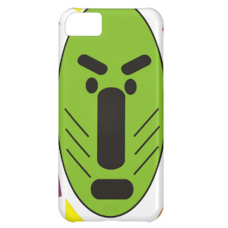 African Funky Mask Cover For iPhone 5C