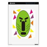 African Funky Mask iPad 3 Skin