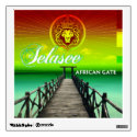 African Gate Album Cover Wall Stickers