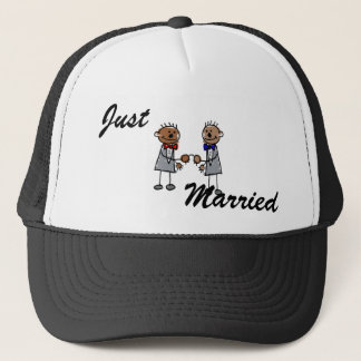 African Gay Couple Trucker Hat