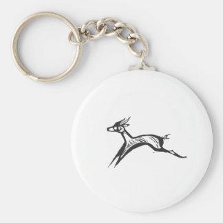 African Gazelle Keychain