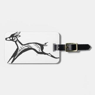 African Gazelle Bag Tags