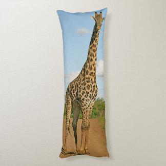 African giraffe body pillow