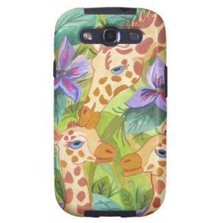 African Giraffe Kisses (Kimberly Turnbull Art) Galaxy SIII Covers