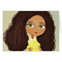 African girl Card