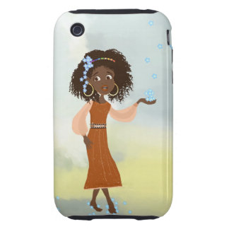 African girl Doli iPhone 3 Tough Cases