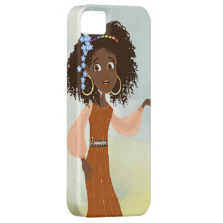 African girl Doli iPhone 5 Cases