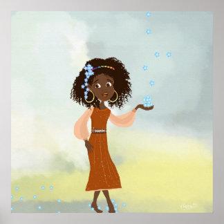 African girl Doli Poster