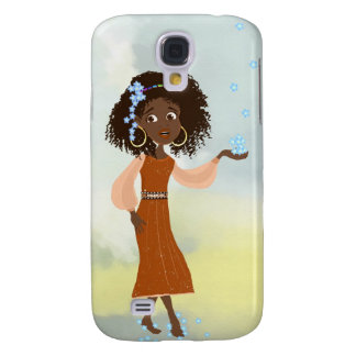 African girl Doli Samsung Galaxy S4 Cover