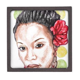 African Girl Gift Box