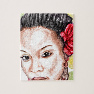 African Girl Jigsaw Puzzle