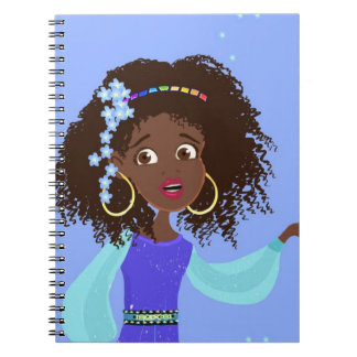 African girl Portrait Notebook