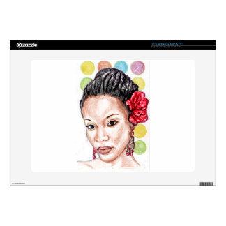 African Girl Skin For Laptop