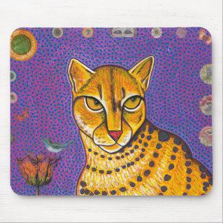 African Golden Cat Mousepad