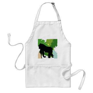 African gorilla adult apron