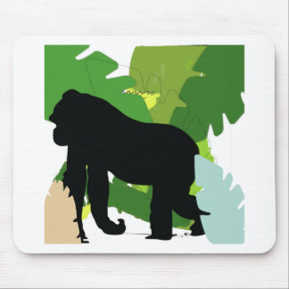 African gorilla mouse pad
