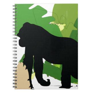 African gorilla notebook