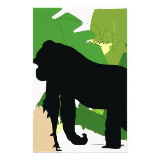 African gorilla stationery