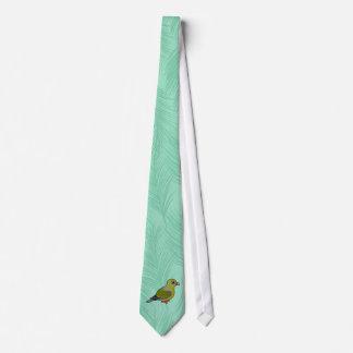 African Green Pigeon Tie