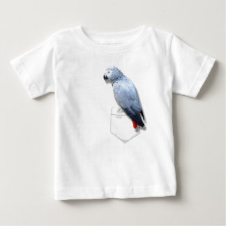 African Grey In Your Pocket Tee Shirts