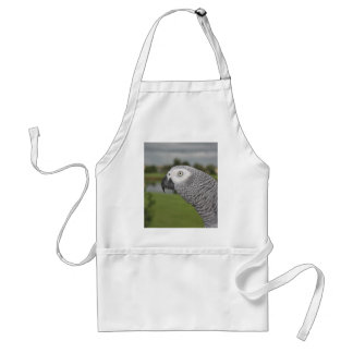 African Grey Lakeside Adult Apron
