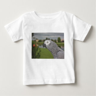 African Grey Lakeside Baby T-Shirt
