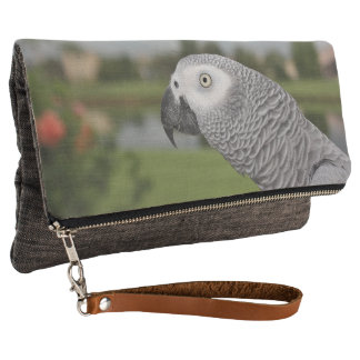 African Grey Lakeside Clutch