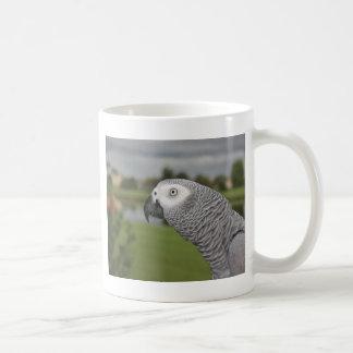 African Grey Lakeside Coffee Mug