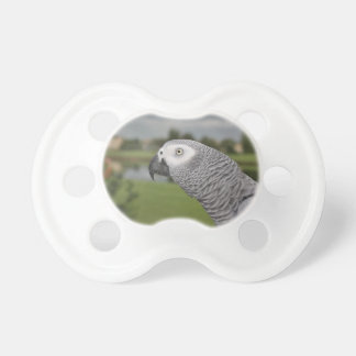 African Grey Lakeside Pacifier