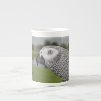African Grey Lakeside Tea Cup