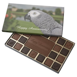 African Grey Lakeside 45 Piece Assorted Chocolate Box