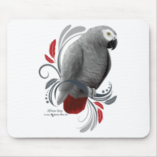 African Grey Mouse Pad